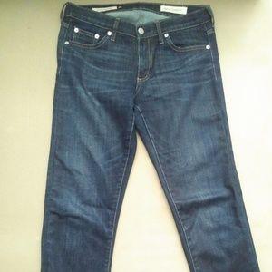 GAP Girlfriend Selvedge Stretch Denim Jeans 26R